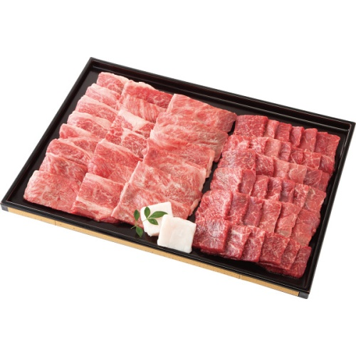 【山形県】山形牛 焼肉用セット 計900g(モモ又は肩500g・肩ロース400g)